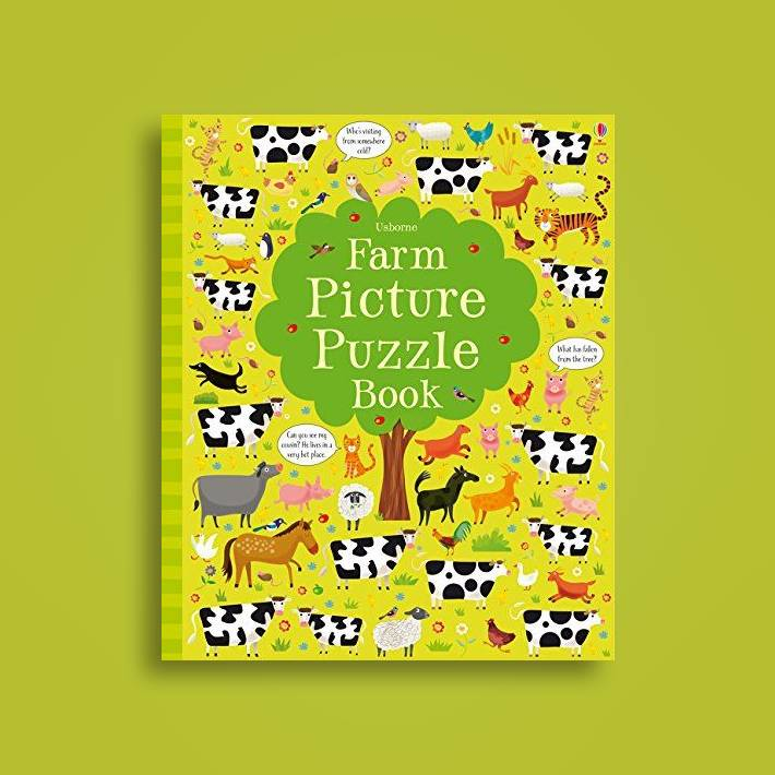 Farm Picture Puzzle Book (Puzzle Books)