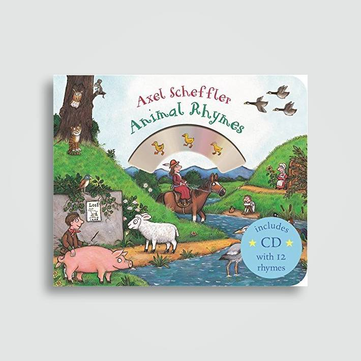 Mother Goose's Animal Rhymes: Book and CD Pack