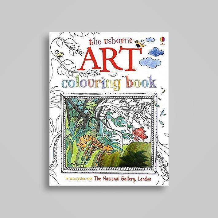 Art Colouring Book (Usborne Colouring Books) (Art Books)
