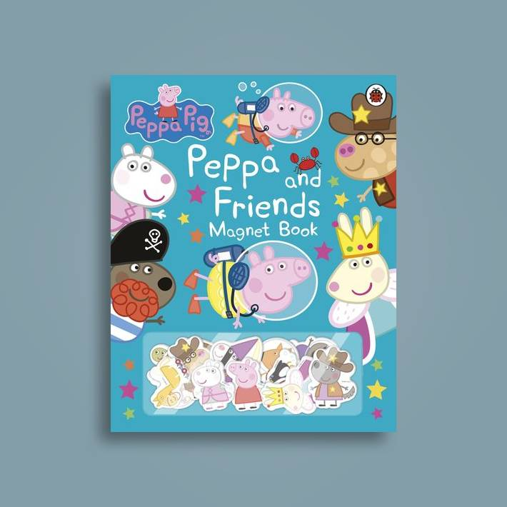 Peppa Pig Peppa And Friends Magnet Book Peppa Pig Near Me Nearst