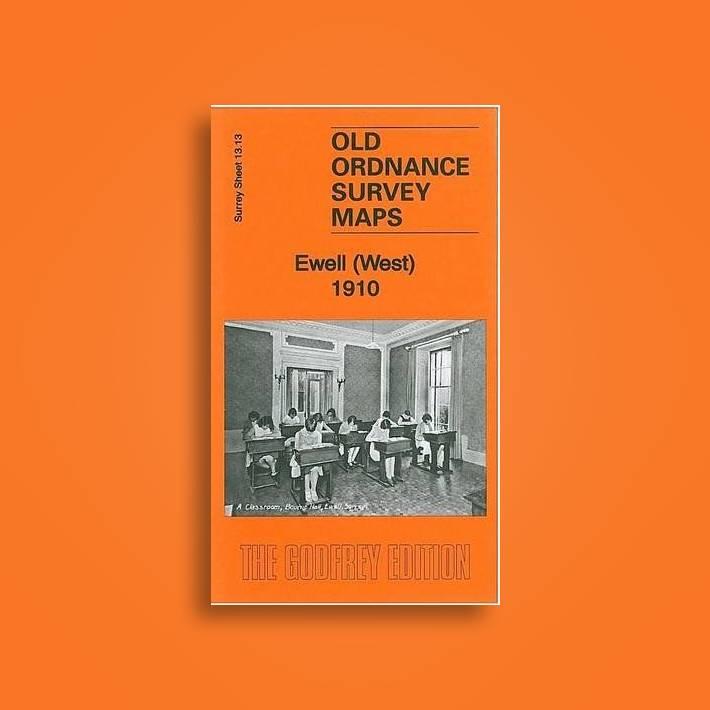 Old Ordnance Survey Maps  Kempton Park /& SW Hampton Middlesex 1934 Sheet 25.06