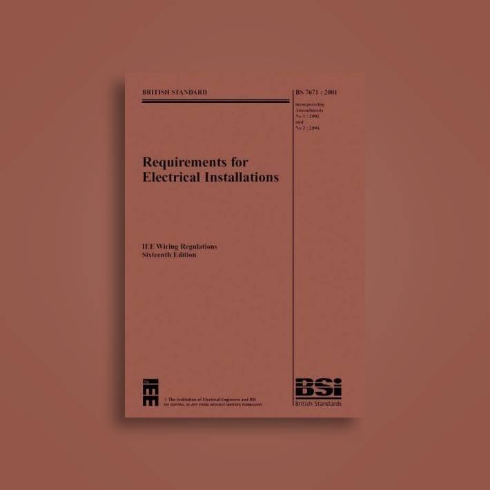 Swell Iee Wiring Regulations Bs7671 2001 Incorporating Amendments No 1 Wiring Cloud Battdienstapotheekhoekschewaardnl