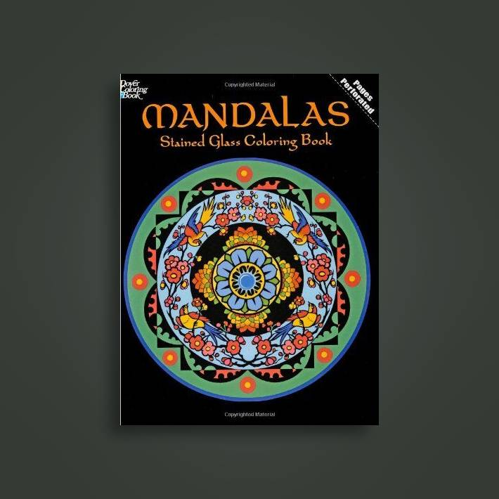 Mandalas Stained Glass Coloring Book - Marty Noble Near Me | NearSt
