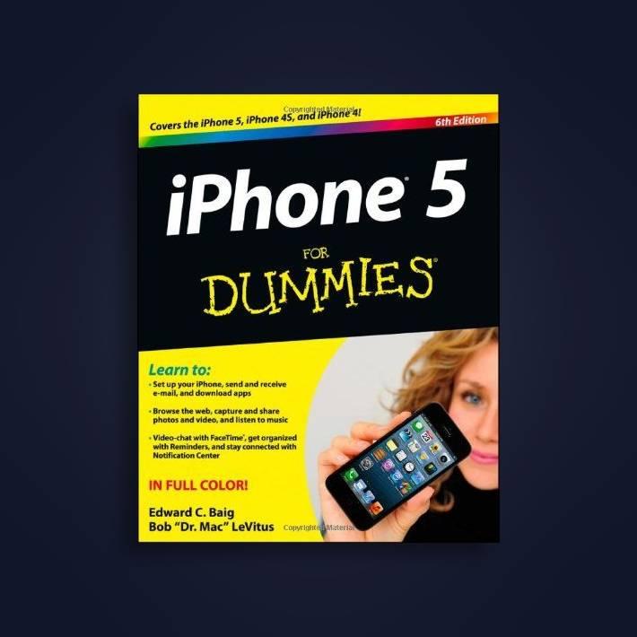 IPhone 5 for Dummies - Edward C  Baig Near Me | NearSt