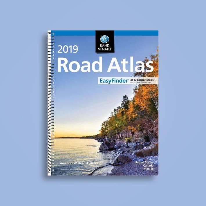 Rand McNally 2019 Easyfinder Midsize Road Atlas - Rand McNally Near Me    NearSt