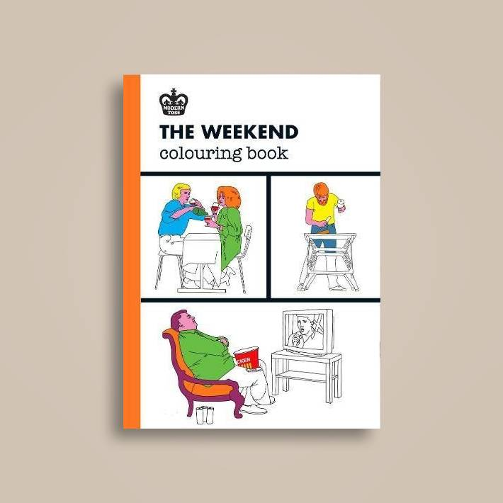 The Weekend Coloring Book