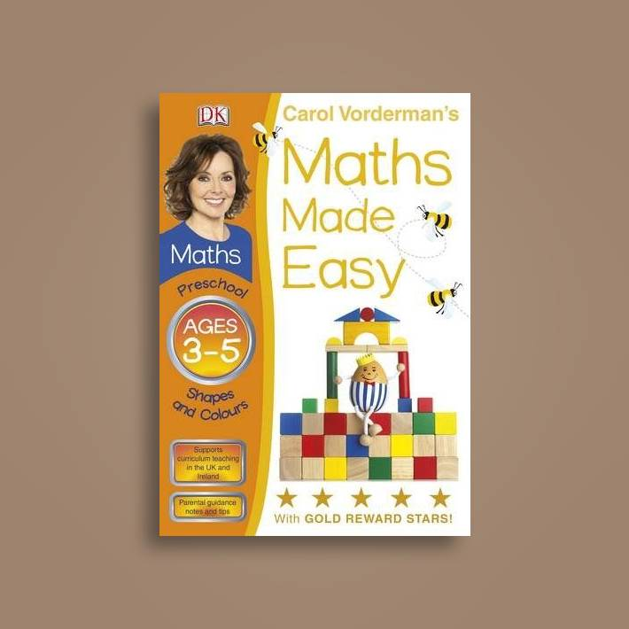 Maths Made Easy Shapes And Patterns Preschool Ages 3-5 - Carol Vorderman  Near Me | NearSt