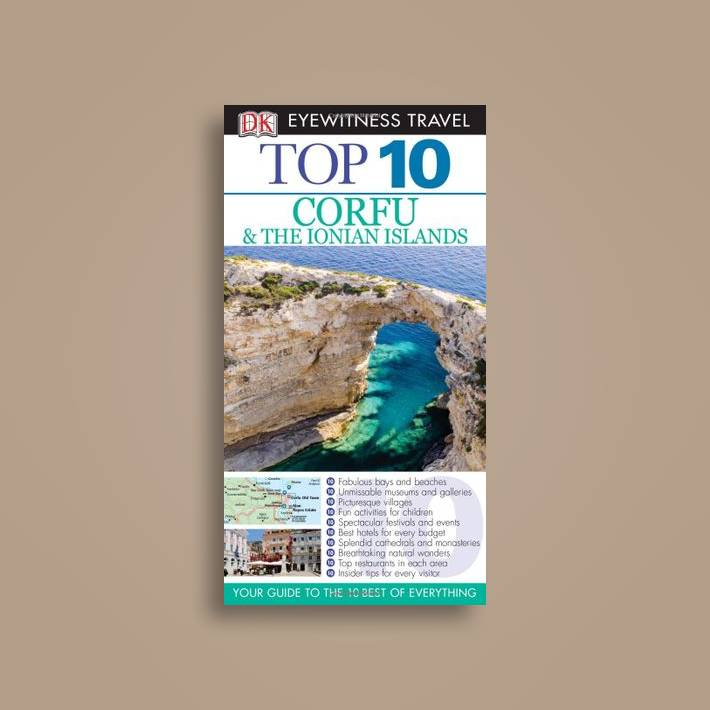 top 10 corfu and the ionian islands dk eyewitness travel guide