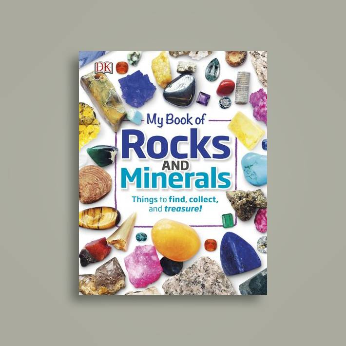 My Book of Rocks and Minerals: Things to find, collect, and treasure! - Dr   Devin Dennie Near Me | NearSt