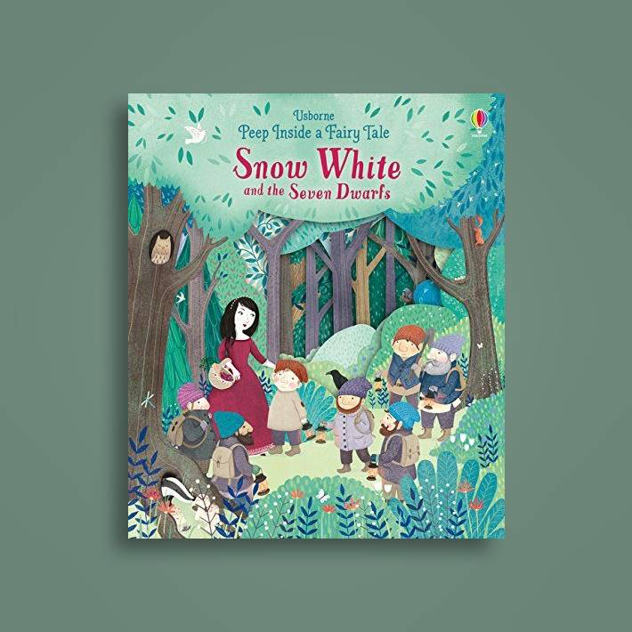 Peep Inside A Fairy Tale Snow White And The Seven Dwarves