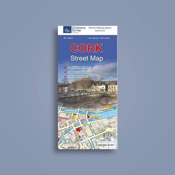 Street Map Of Ireland.Cork Street Map Irish Street Maps Ordnance Survey Ireland Near Me Nearst