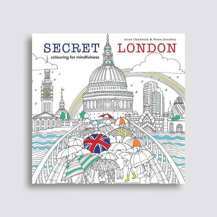 Secret London Colouring For Mindfulness