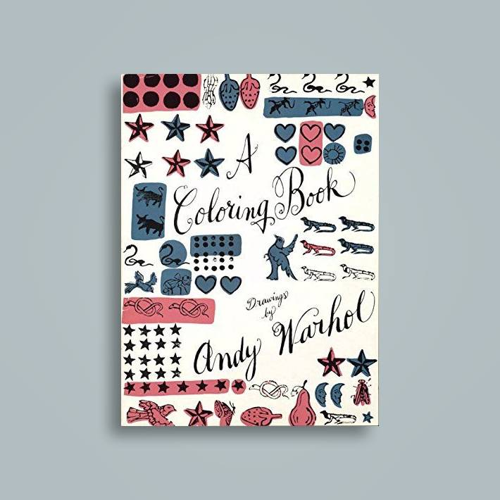 A Coloring Book: Drawings by Andy Warhol - Andy Warhol Near Me ...