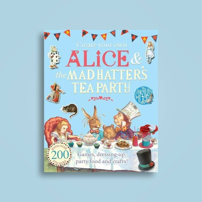 Create Your Own Alice and the Mad Hatter s Tea Party - Lewis Carroll ... 70c174219e7