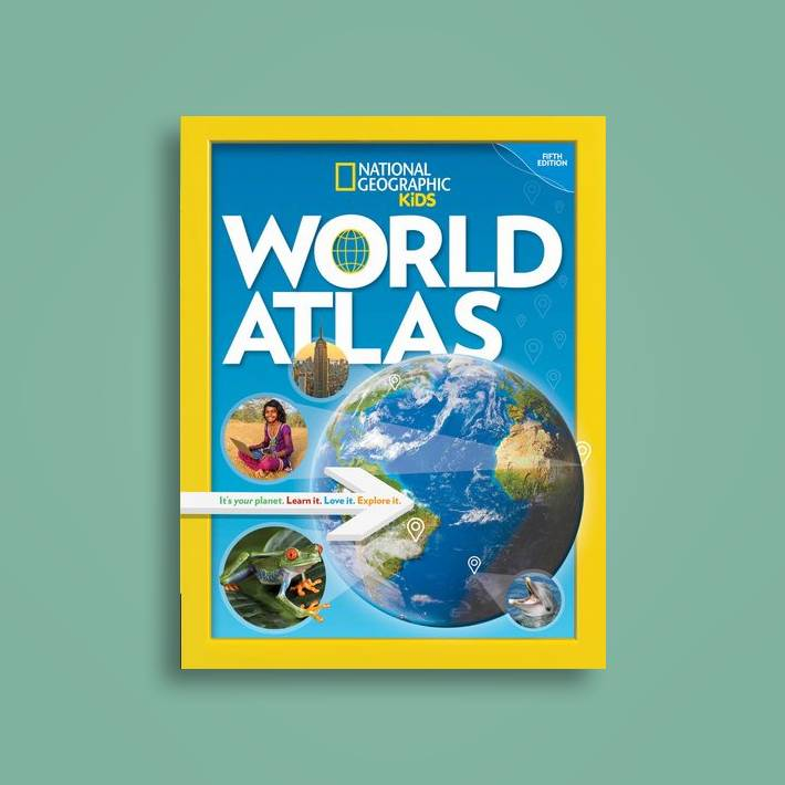 National Geographic Kids World Atlas, 5th Edition - National Geographic  Kids Near Me | NearSt