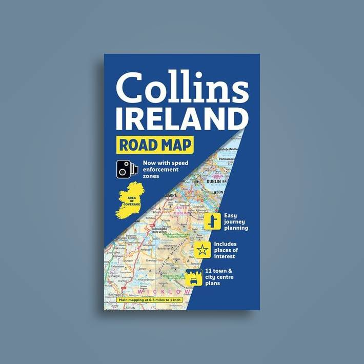 Show Me The Map Of Ireland.Ireland Road Map Collins Maps Near Me Nearst