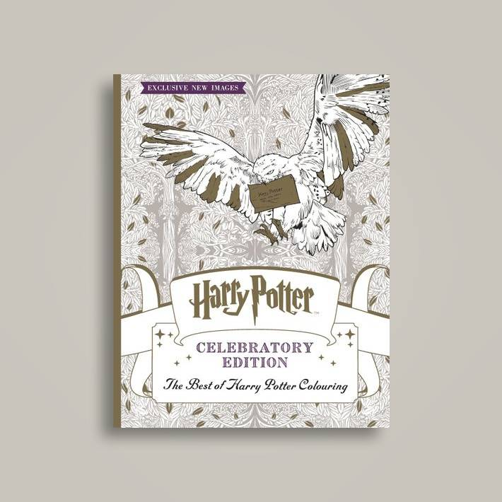 Harry Potter Colouring Book Celebratory Edition The Best Of