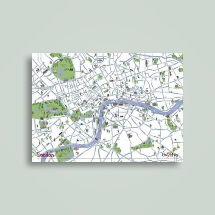 London Children's Wall Map - Kourtney Harper Near Me   NearSt Find on