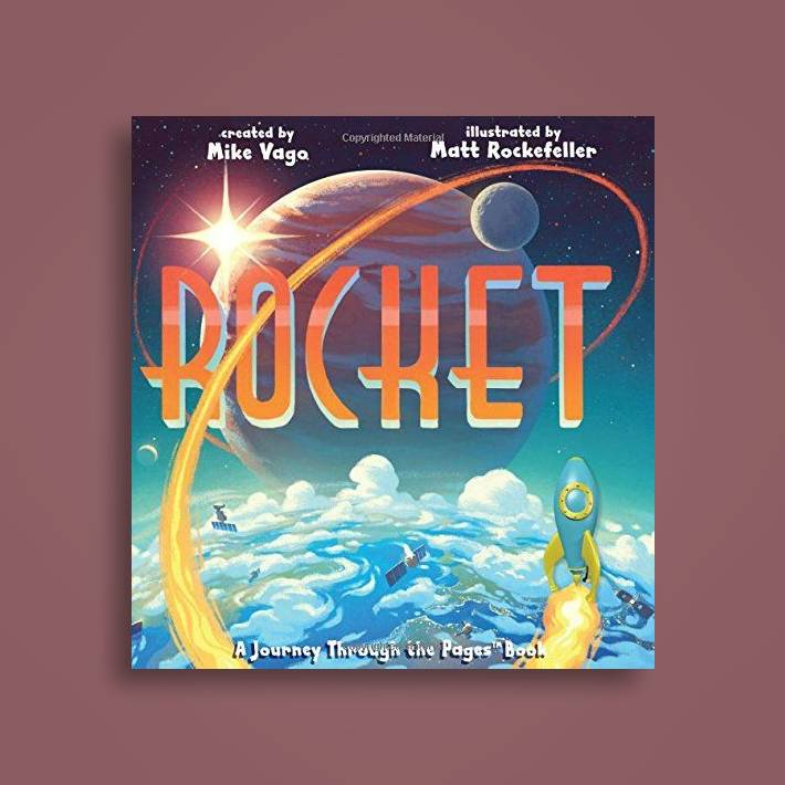 Rocket: A Journey Through the Pages Book - Mike Vago Near Me   NearSt