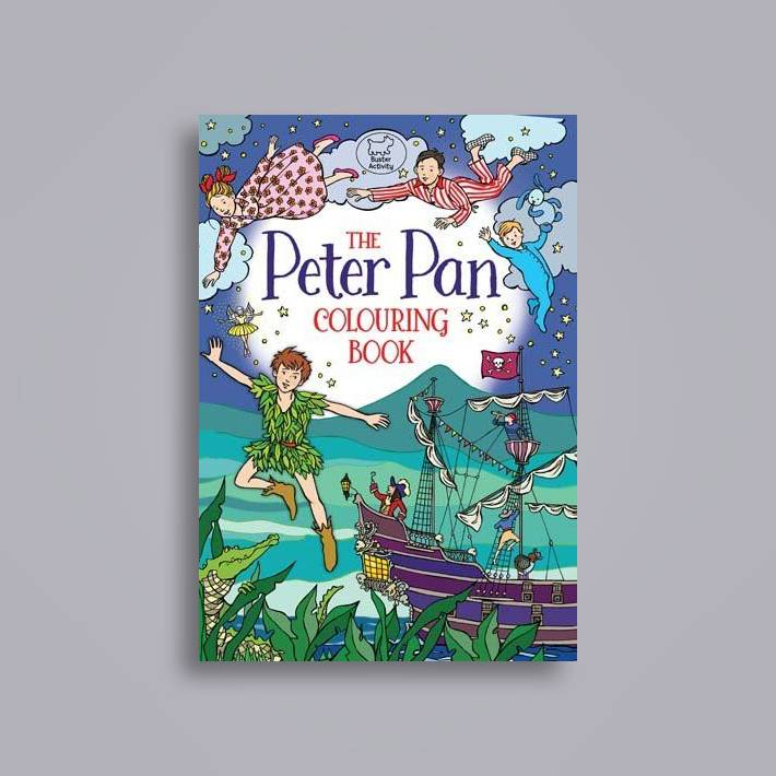 The Peter Pan Colouring Book - Ann Kronheimer Near Me | NearSt Find ...