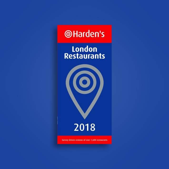 Hardens London Restaurants 2018
