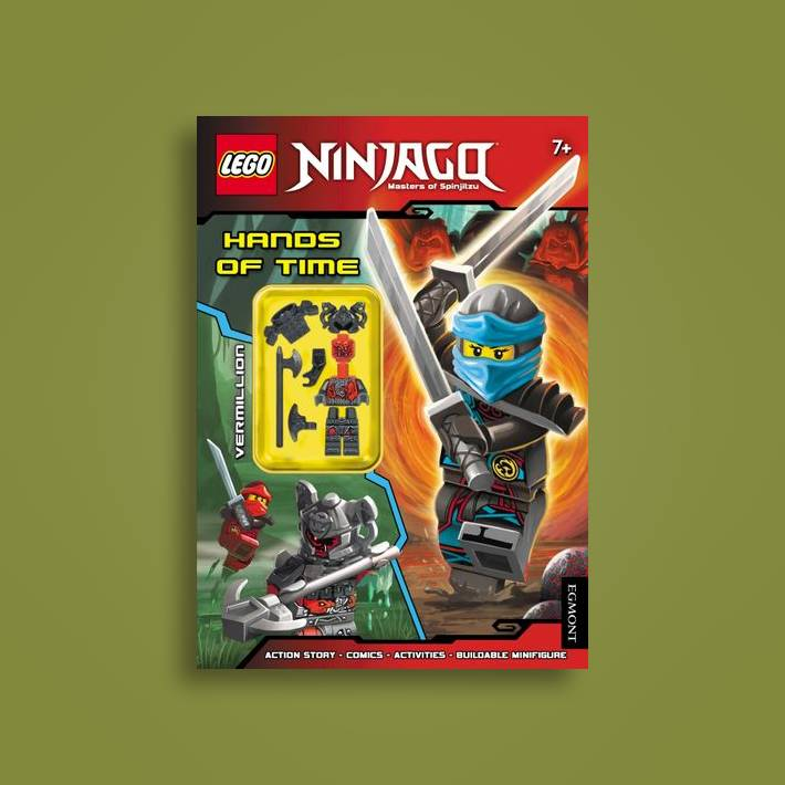 LEGO (R) Ninjago: Hands of Time (Activity Book with