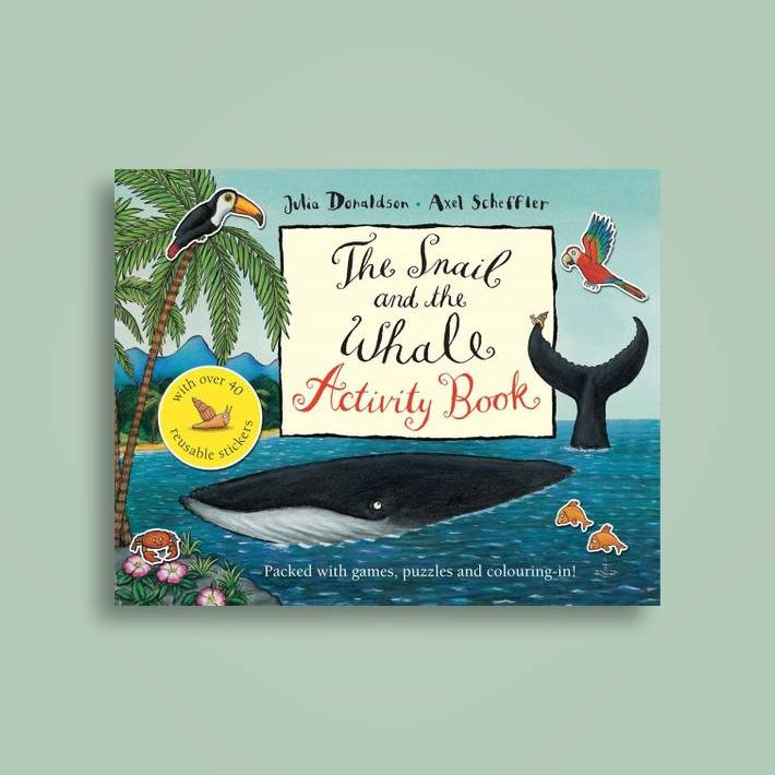 The Snail And The Whale Activity Book Julia Donaldson Near Me