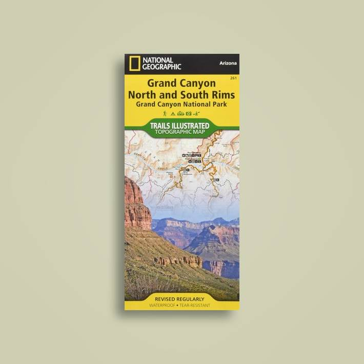 Grand Canyon, Bright Angel Canyon/north & South Rims: Trails Illustrated  National Parks - National Geographic Maps Near Me   NearSt