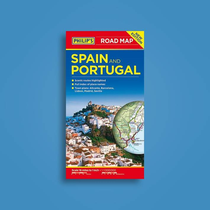 Road Map Of Portugal And Spain.Philip S Spain And Portugal Road Map Philip S Maps Near Me Nearst