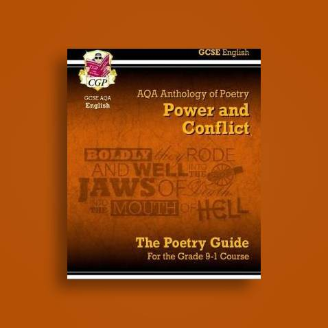 New GCSE English Literature AQA Poetry Guide: Power & Conflict Anthology -  CGP Books Near Me | NearSt