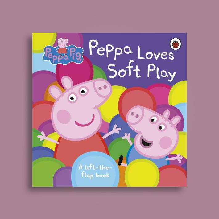 Peppa Pig: Peppa Loves Soft Play: lift-the-flap book