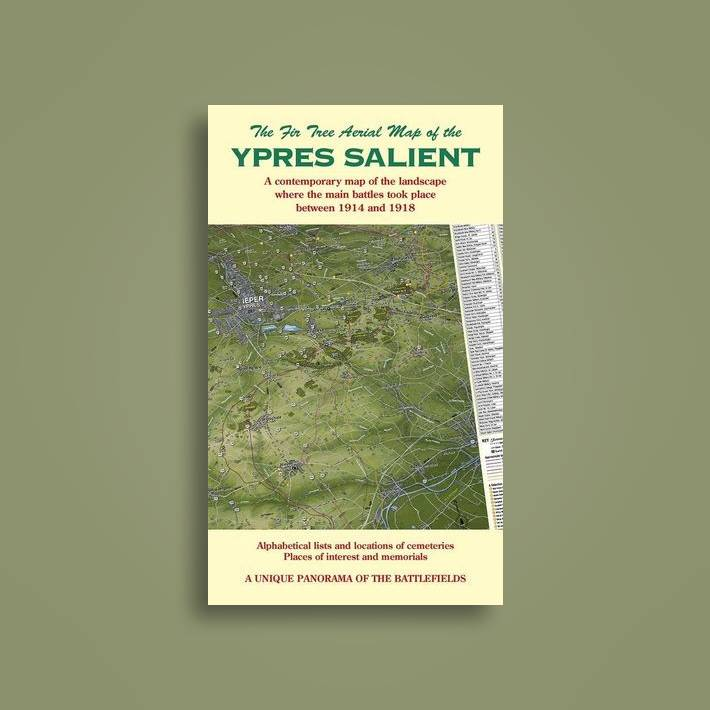 The Ypres Salient: Aerial Map (Folded)