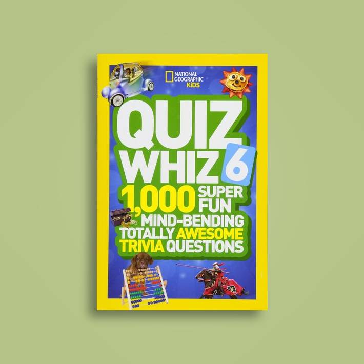 Quiz Whiz 6: 1,000 Super Fun Mind-Bending Totally Awesome Trivia Questions  (Quiz Whiz ) - National Geographic Kids Near Me | NearSt