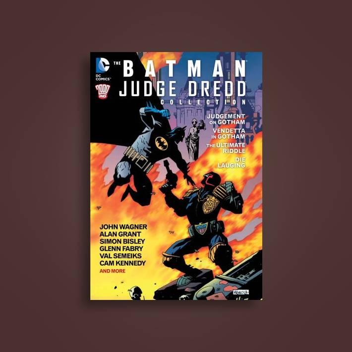 The Batman Judge Dredd Collection (2000 Ad) - John Wagner Near Me ... 8aef4231713
