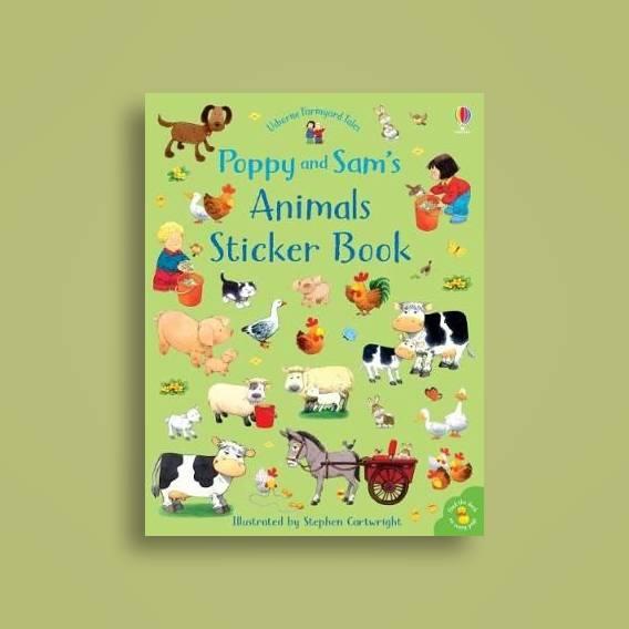 Poppy and Sam's Animals Sticker Book - Sam Taplin Near Me | NearSt
