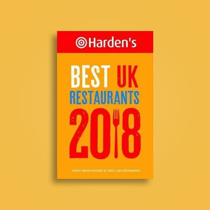 Hardens Best UK Restaurants 2018