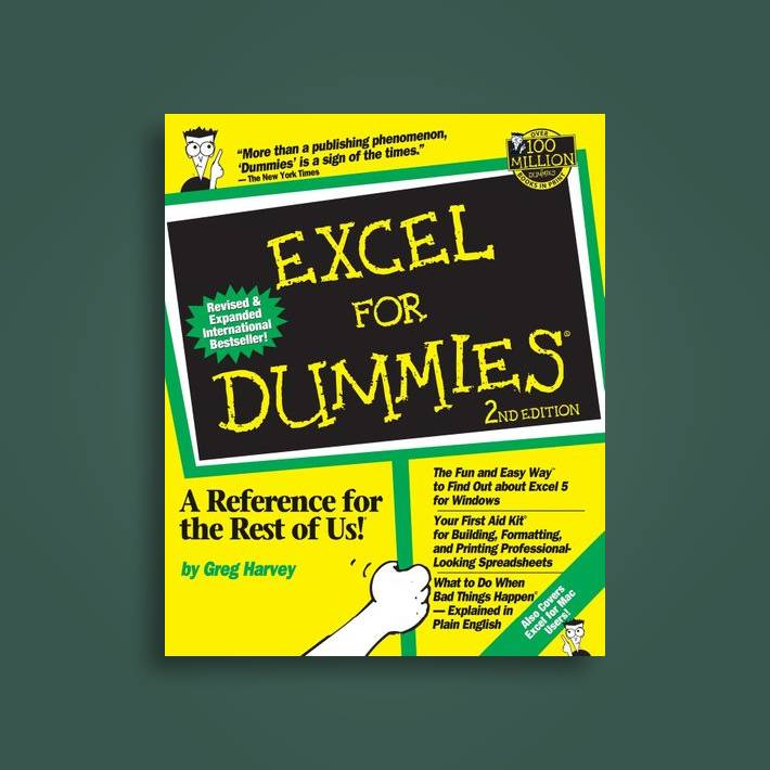Excel For Dummies, 2nd Edition: 2nd Edition - Greg Harvey Near Me | NearSt