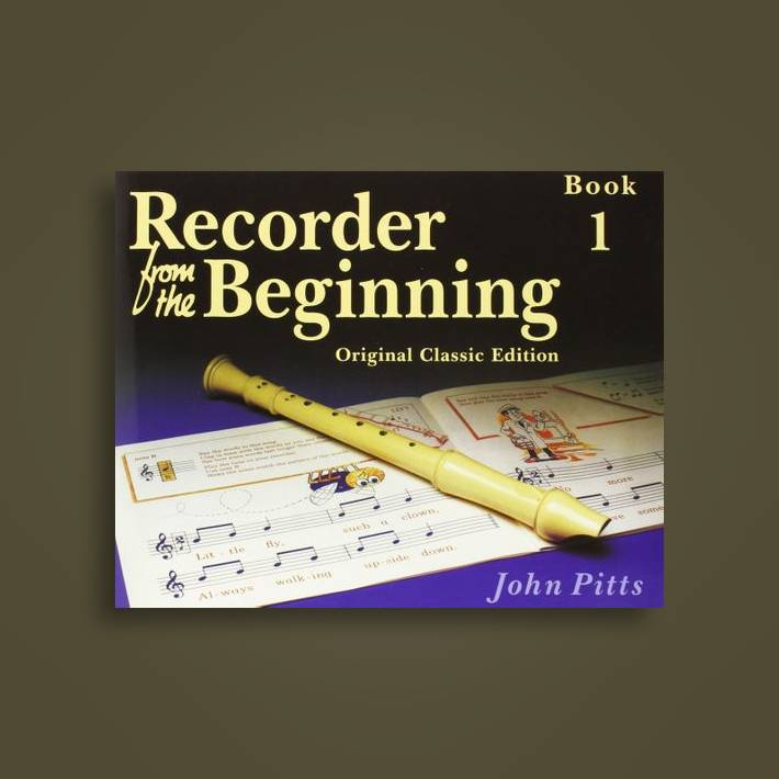 Recorder From The Beginning John Pitts Book 1 Musical Instruments & Gear