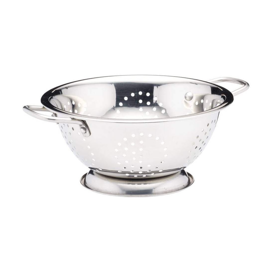 Kitchen Craft Stainless Steel Twin Handled Colander, 24 cm.