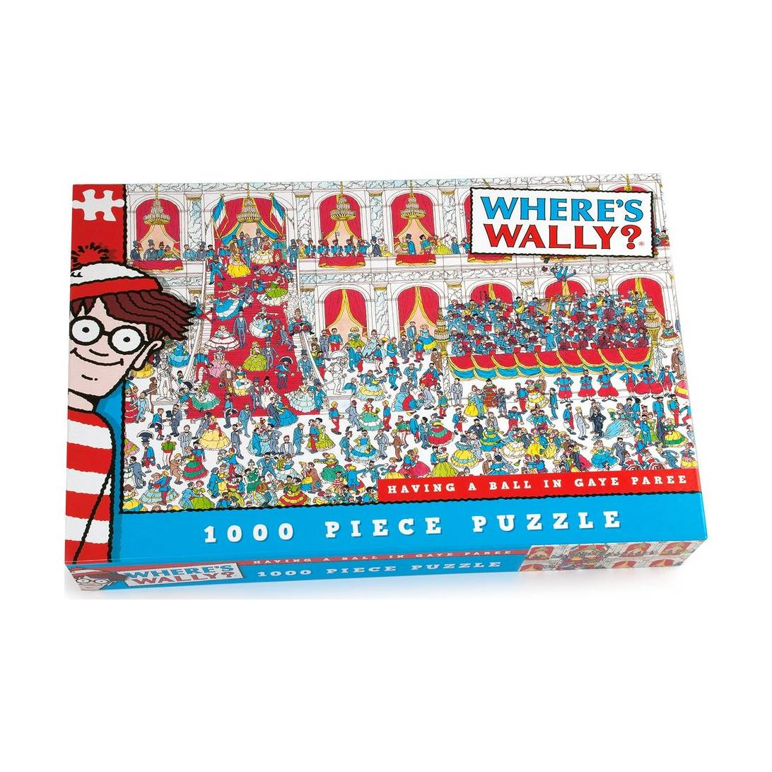 Paul Lamond Where's Wally Having a Ball in Gaye Paree Puzzle (1000-Piece)