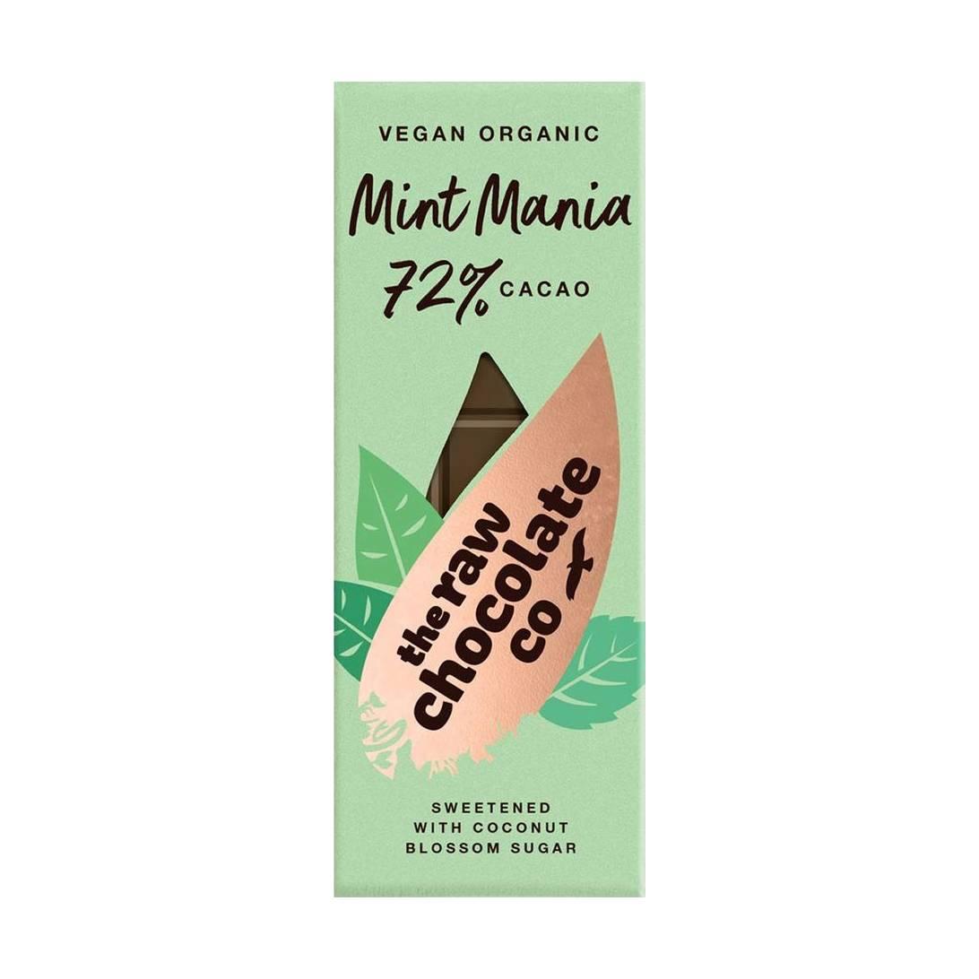 Organic Mint Mania 72 The Raw Chocolate Company 38g Near Me Nearst