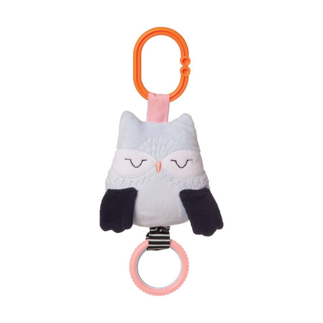Manhattan Toy Camp Acorn Owl Baby Travel Toy