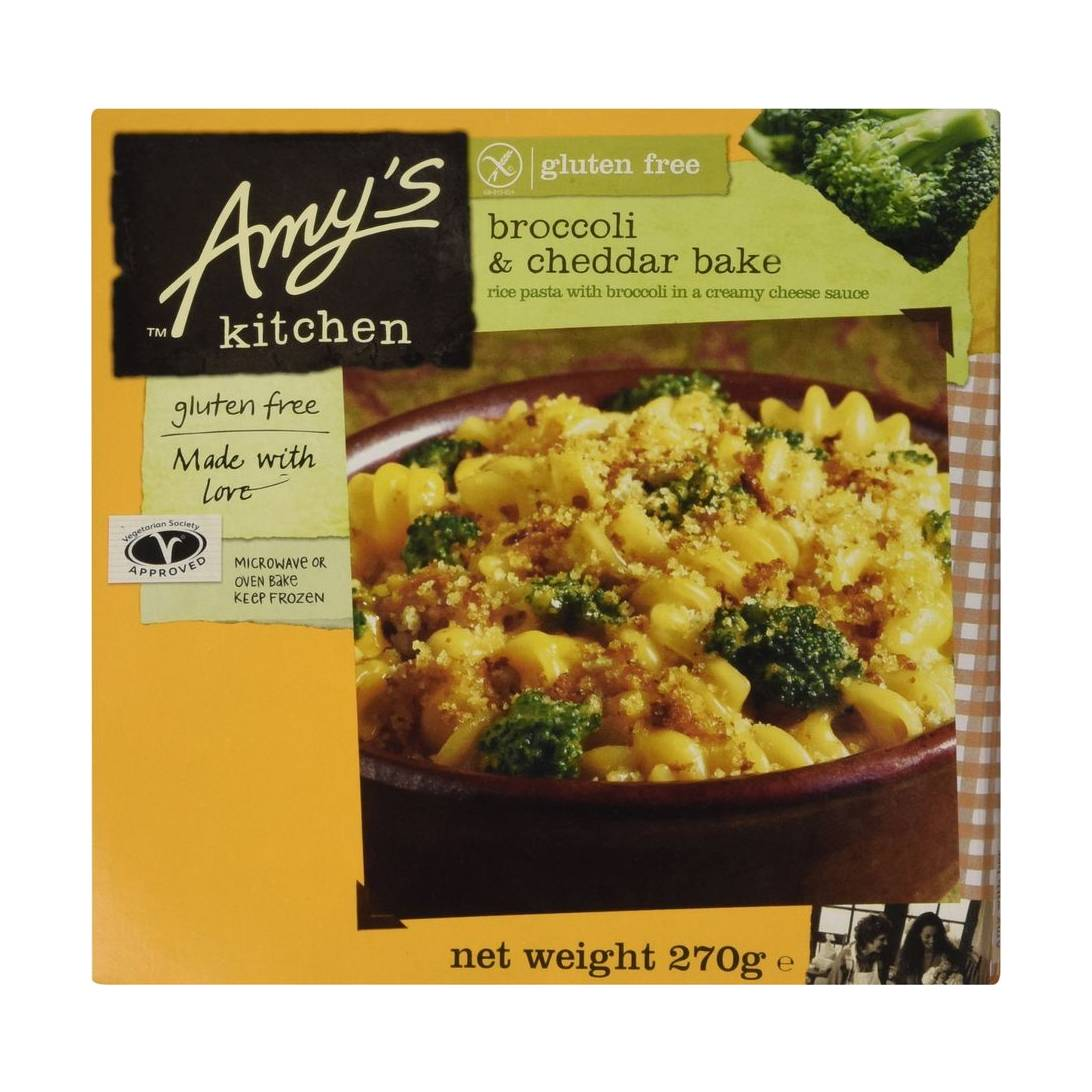 Amy's Kitchen Broccoli & Cheddar Rice Pasta Bake, 270g (Frozen) Near Me |  NearSt
