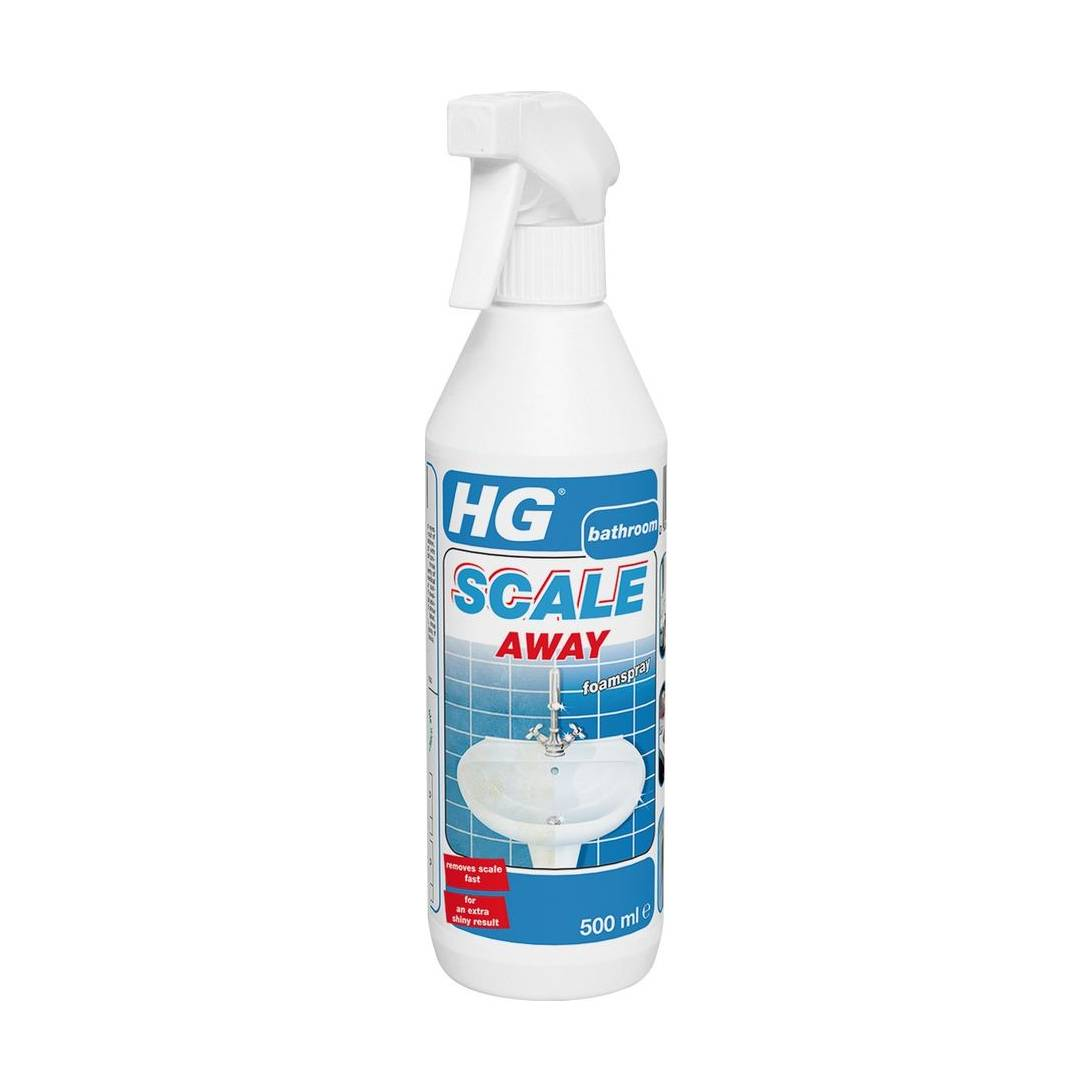 Hg Ceramic Hob Cleaner 500ml: HG Bathroom Limescale Remover Foam Spray Cleaner Scale
