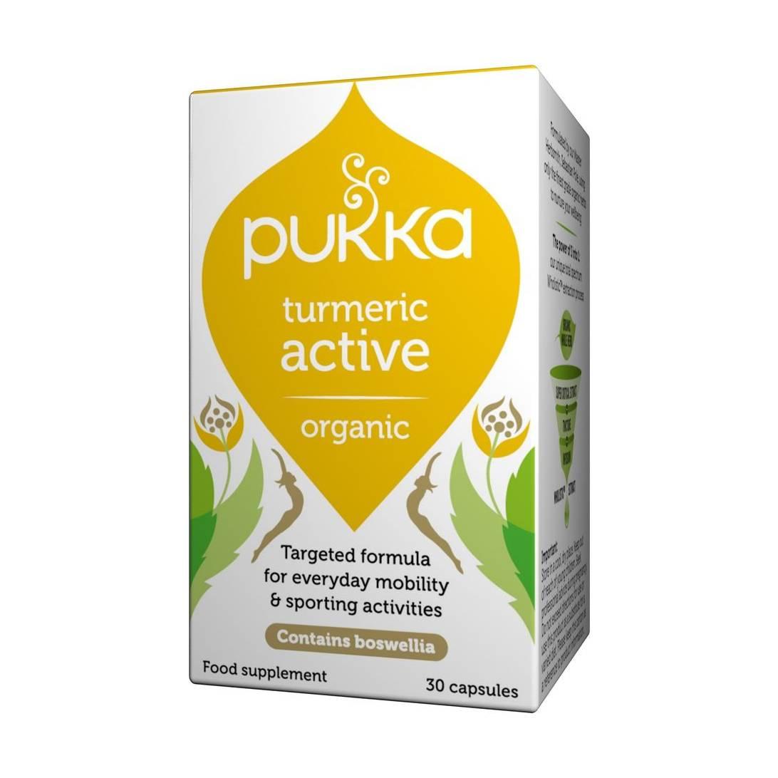 Pukka Herbs - Turmeric Active, Organic Turmeric Root Powder Near Me | NearSt