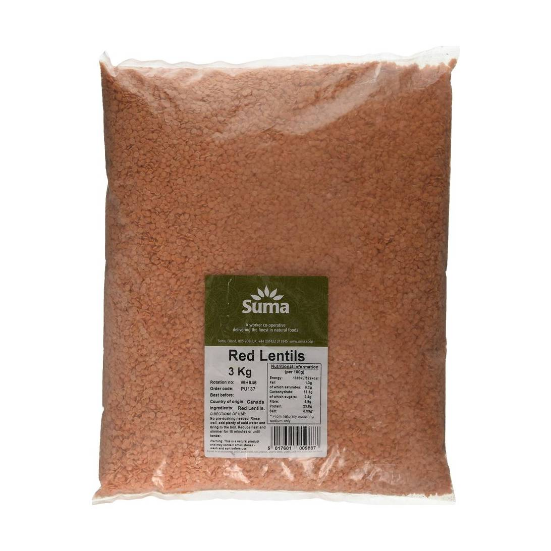 Kg Near Me >> Suma Red Lentils 3 Kg Near Me Nearst Find And Buy Products From