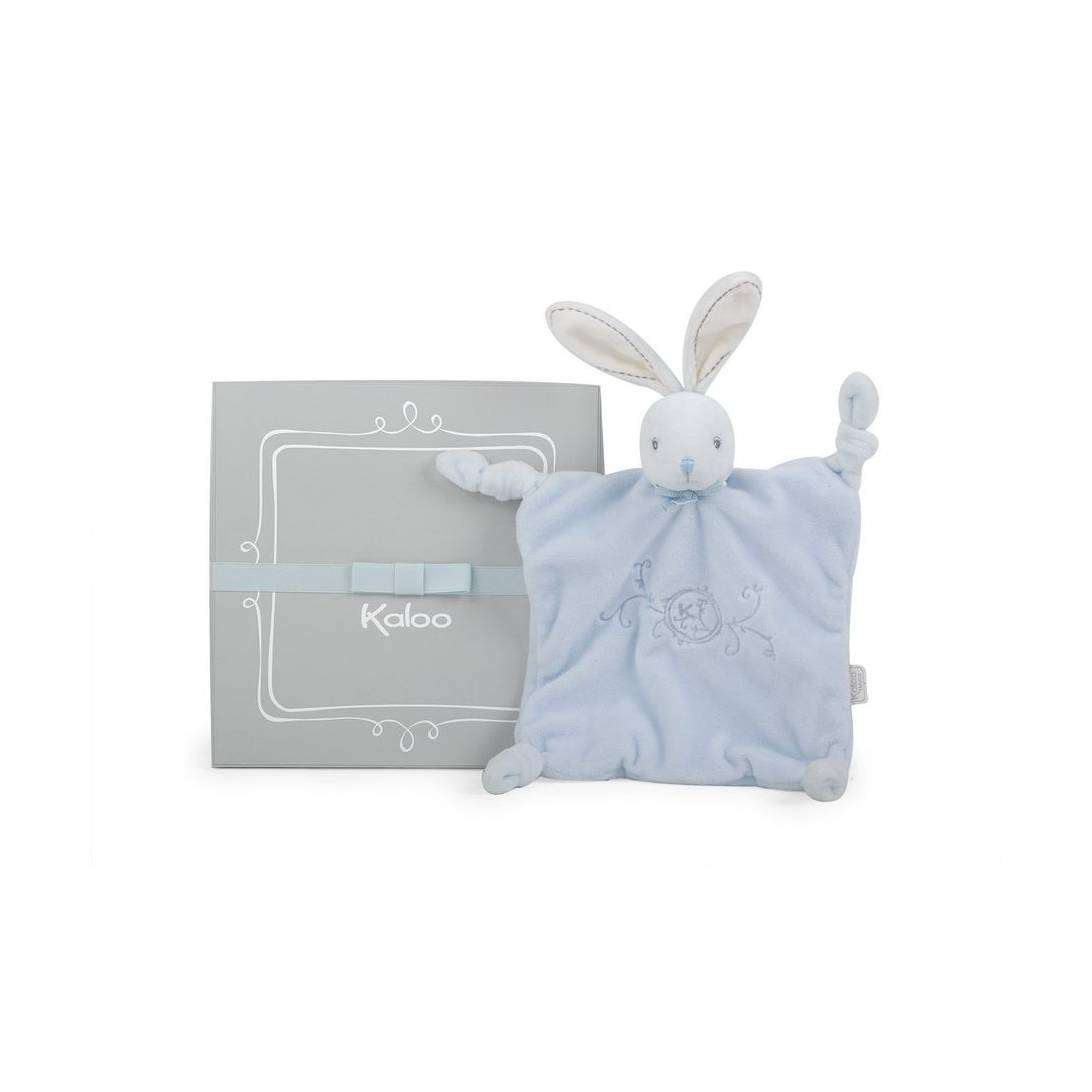 Kaloo Perle Rabbit Doudou, Blue
