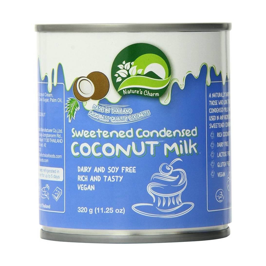 Nature's Charm Sweetened Condensed Coconut Milk, 320 g