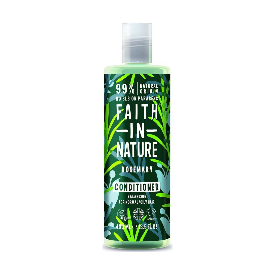 Faith In Nature Rosemary Stimulating Conditioner For Normal To Greasy Hair  400ml Near Me | NearSt