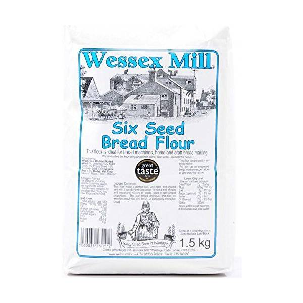 Wessex Mill Flours (Wessex Mill Six Seed Bread Flour 2x1 5kg Pack) Near Me  | NearSt